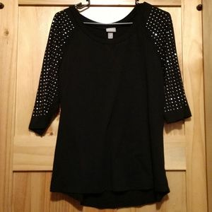 Black Vanity blouse
